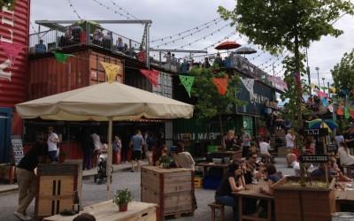 Frau Gerolds Garten: ludieke festivaltuin