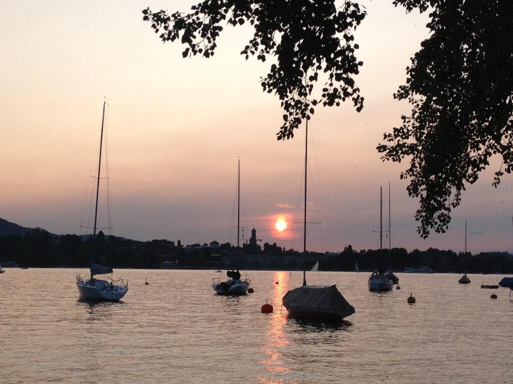 Fischstube: stijlvolle romantiek aan het water