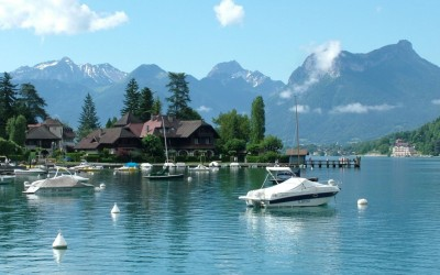 Sprookjesachtig Lac d'Annecy