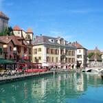 Annecy, de stad van het meer