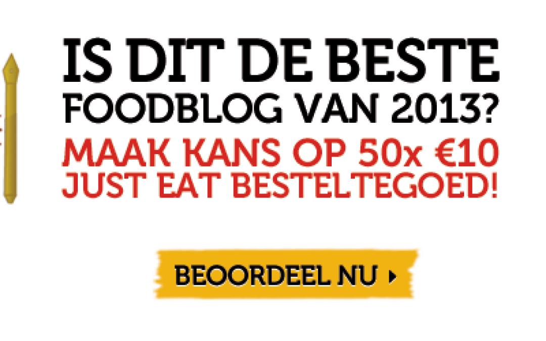 Stemmen: TOP 50 BESTE FOODBLOGS 2013