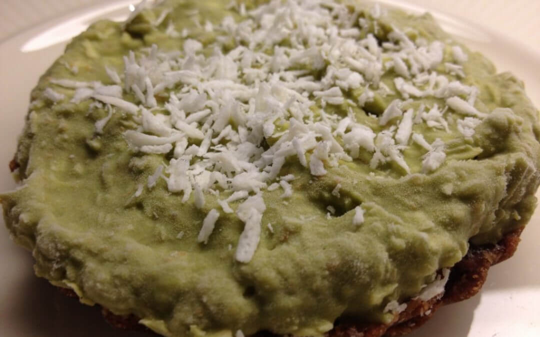 Mandarijn 'Cheesecake' met speculaasbodem