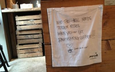 Koffiepauze in Berlijn
