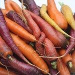 Vergeten groente: ovenschotel met rode en oranje wortel