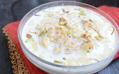 Vata: rijst-ontbijt Kheer