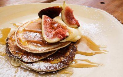 Pitta: flensjes met appel-vijgen-moes