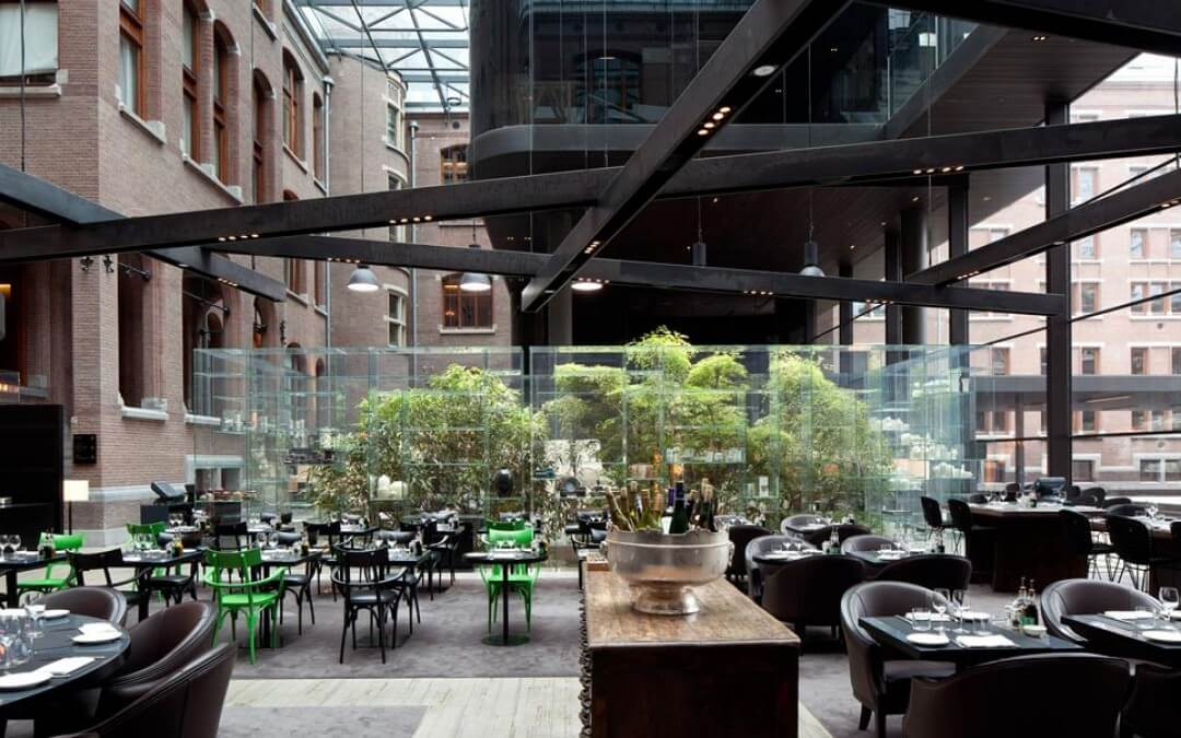 Conservatorium brasserie fantasievol stijlvol en uniek for Ideal hotel design 75014