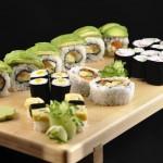 Vega sushi: soorten sushi