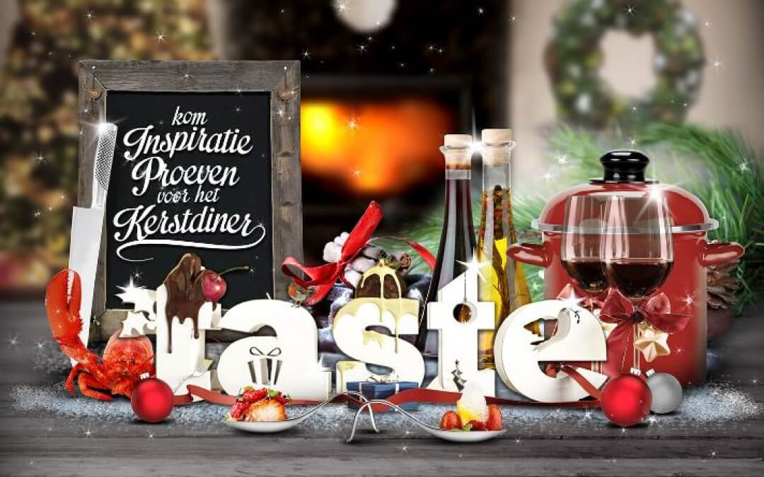 Taste of Christmas: 12-14 december + WINACTIE