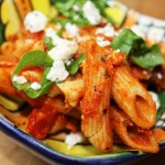 Vega budget: Mediterrane pasta