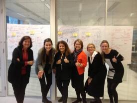 Brainstorm met internationale collega's!