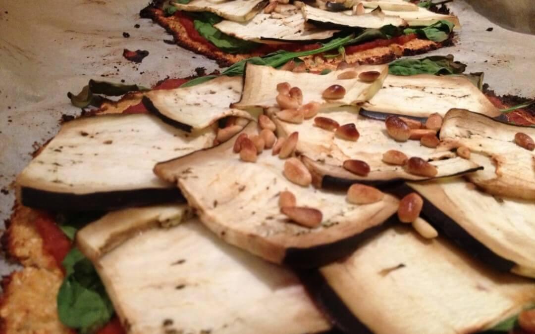 Healthy pizza met bloemkoolbodem