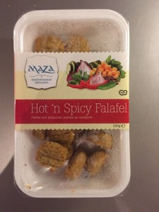 Hot n Spicy falafel Maza