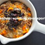 Workshop: voeding voor sporters + KORTING