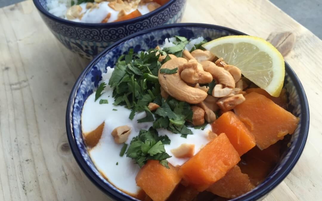 Streetfood van Fair Trade Original + rode curry recept