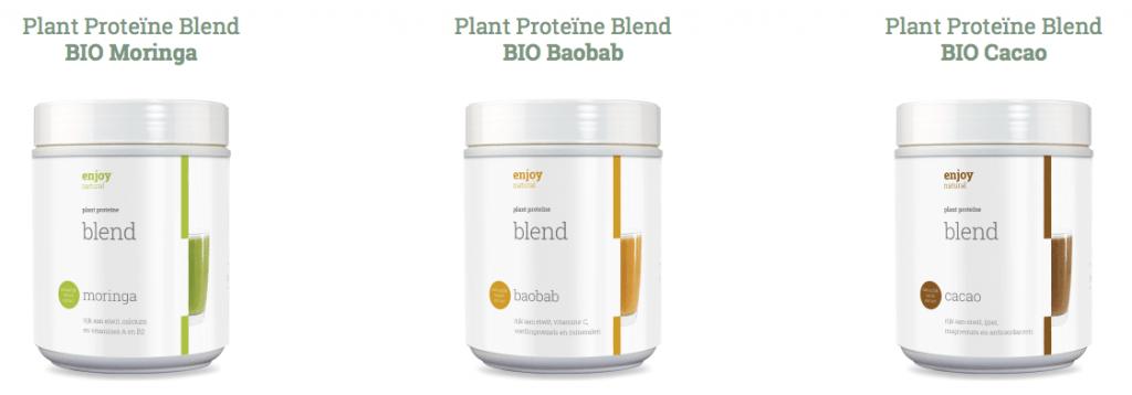 Plantaardig proteinepoeder Enjoy Naturals