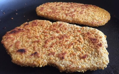 Lupine schnitzel Vivera