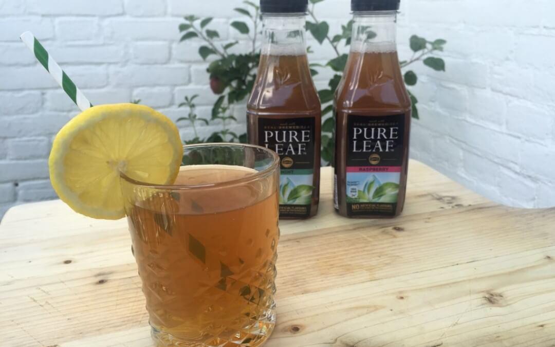 Pure Leaf: ijsthee met vers getrokken thee