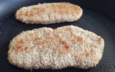 Vegetarische schnitzel Vivera
