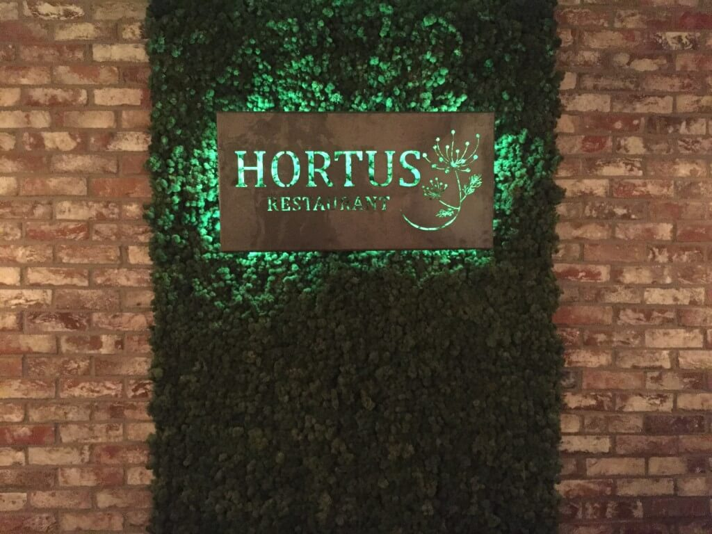 Hortus: Vegan restaurant in Den Haag