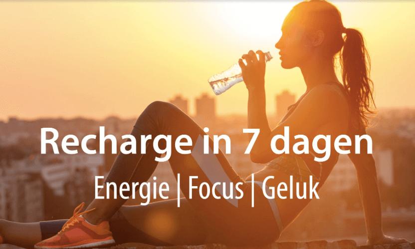 Recharge-week: 25 tm 31 januari