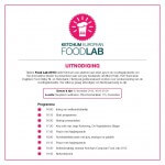 Ontmoet top 3 Food Lab competitie