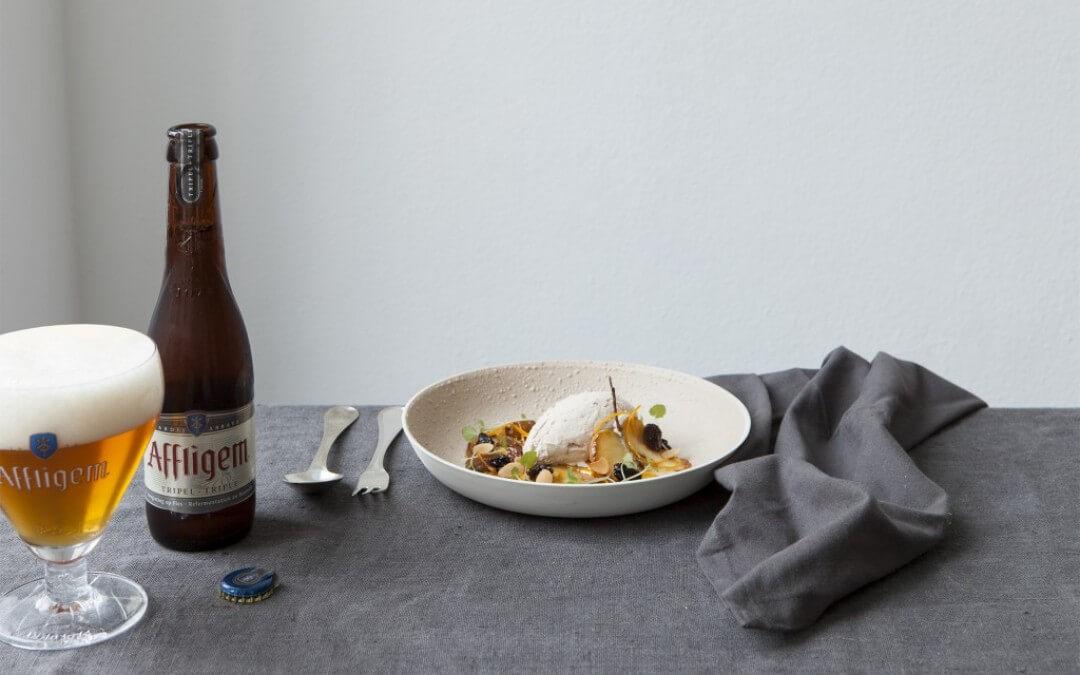 Bier & Spijs: Tomaten- en mangosalade met gembervinaigrette