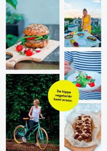 Eerste aankondiging - Boek De Hippe Vegetariër (1)