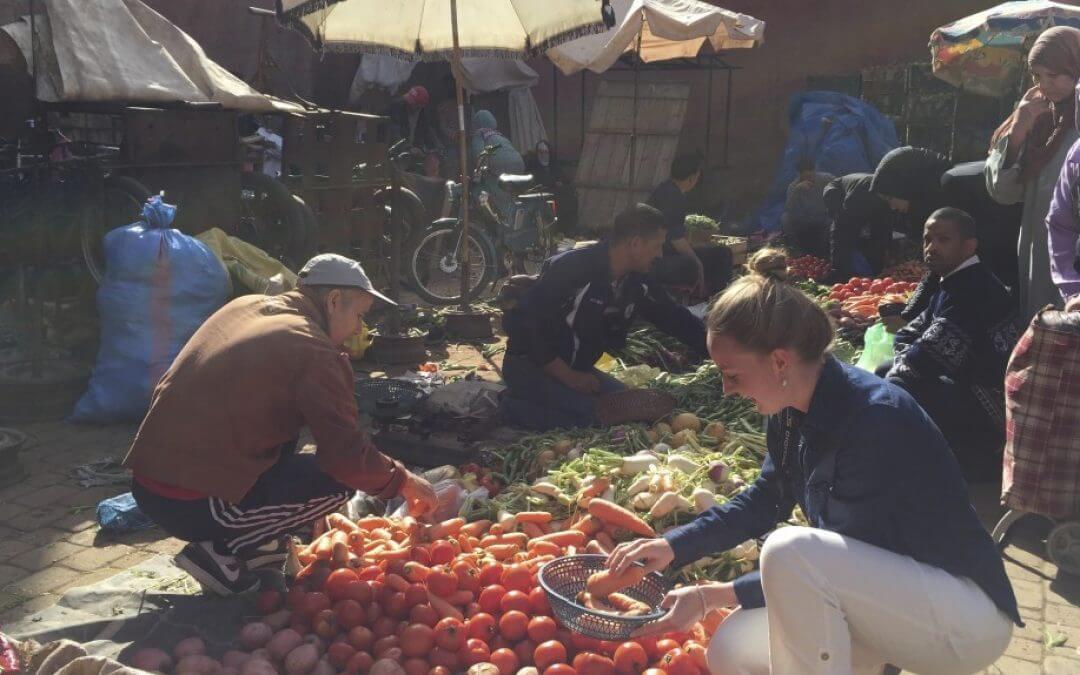Marokko: fotoverslag Souk