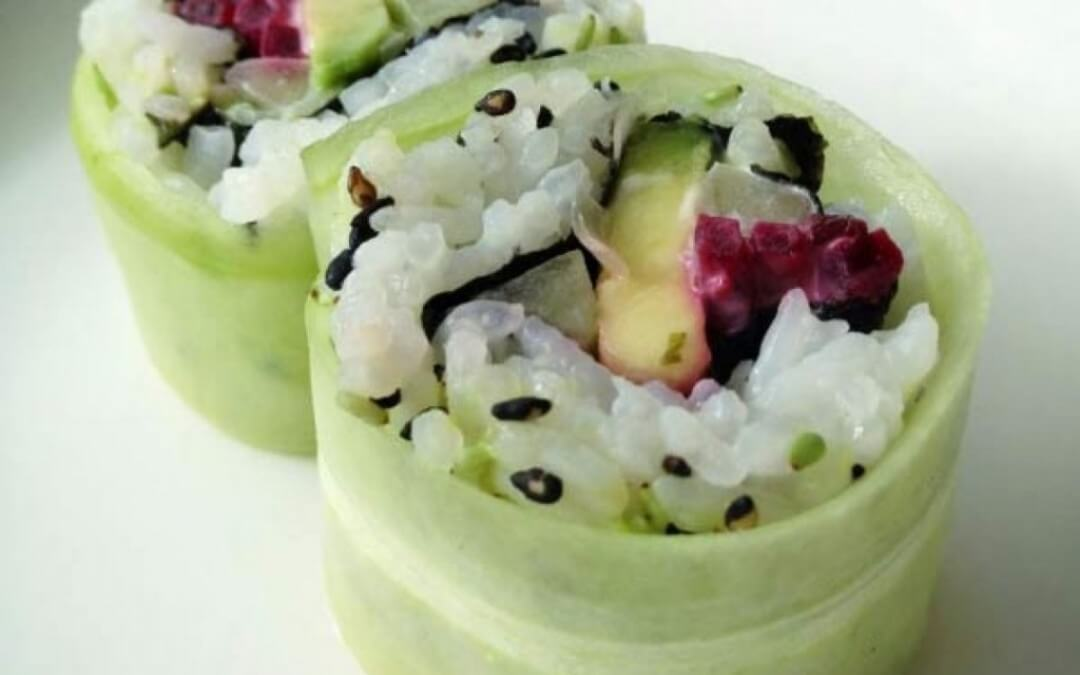 Top 5: Vegetarische sushi's!