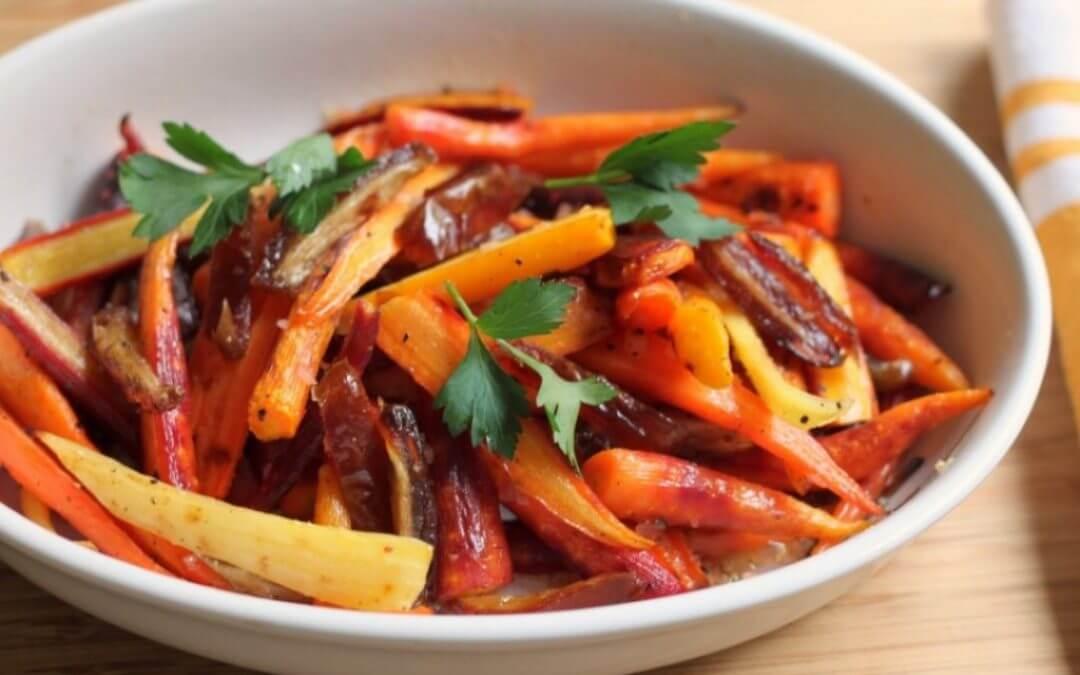 Top 5: Recepten met lente groenten