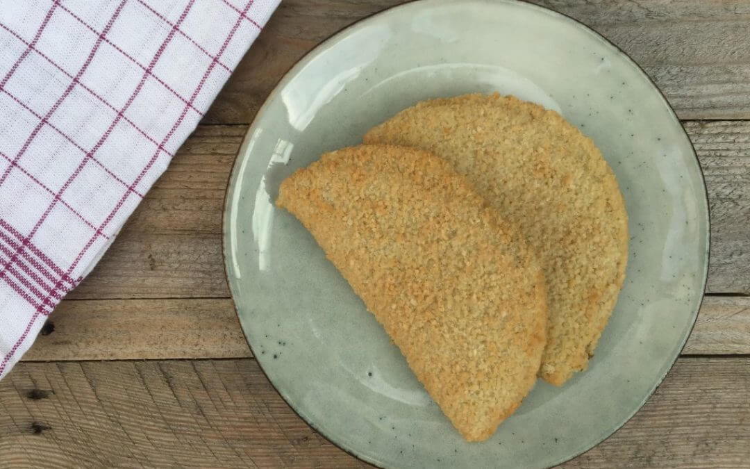 Getest: champignon schnitzel van Vivera