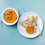 Zomerse dip: wortelspread