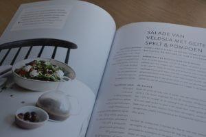 SLA kookboek - Salade van veldsla