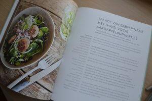 SLA kookboek - Salade van bladspinazie