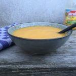 Vegetarische soep met 50% groente