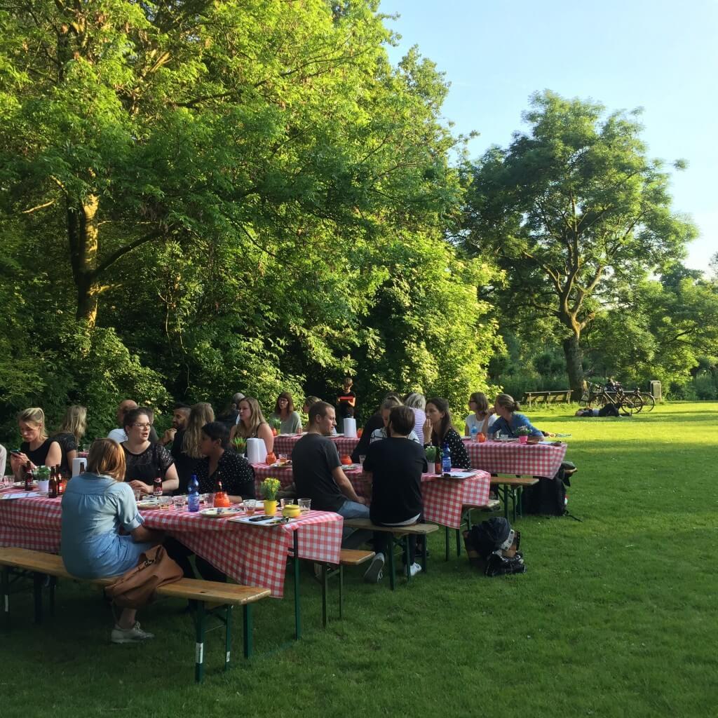 Restaurantwaardig dineren in het Vondelpark