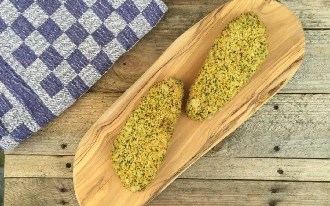 Vleesvervanger getest: spinazie kaas filet van Vivera