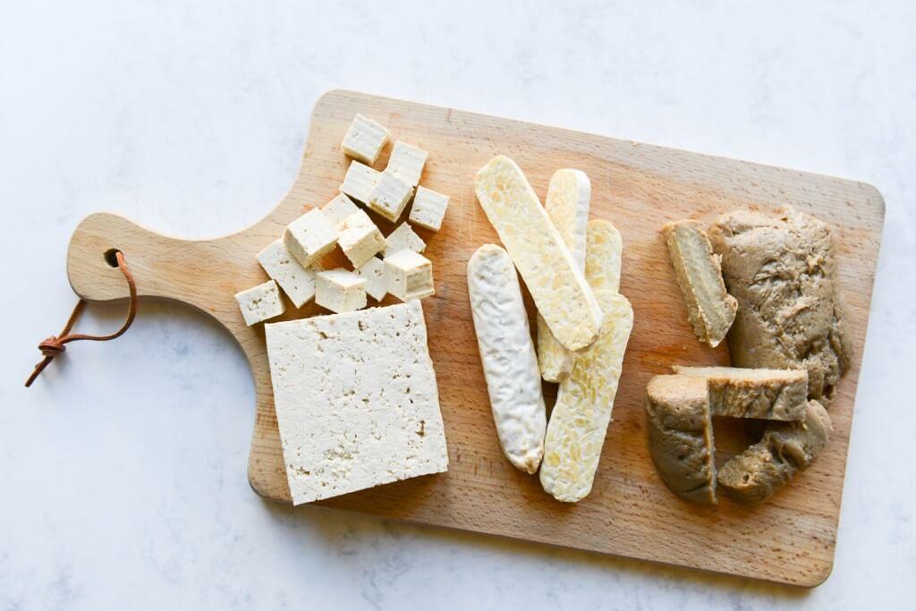 Een lesje tofu, tempeh, seitan