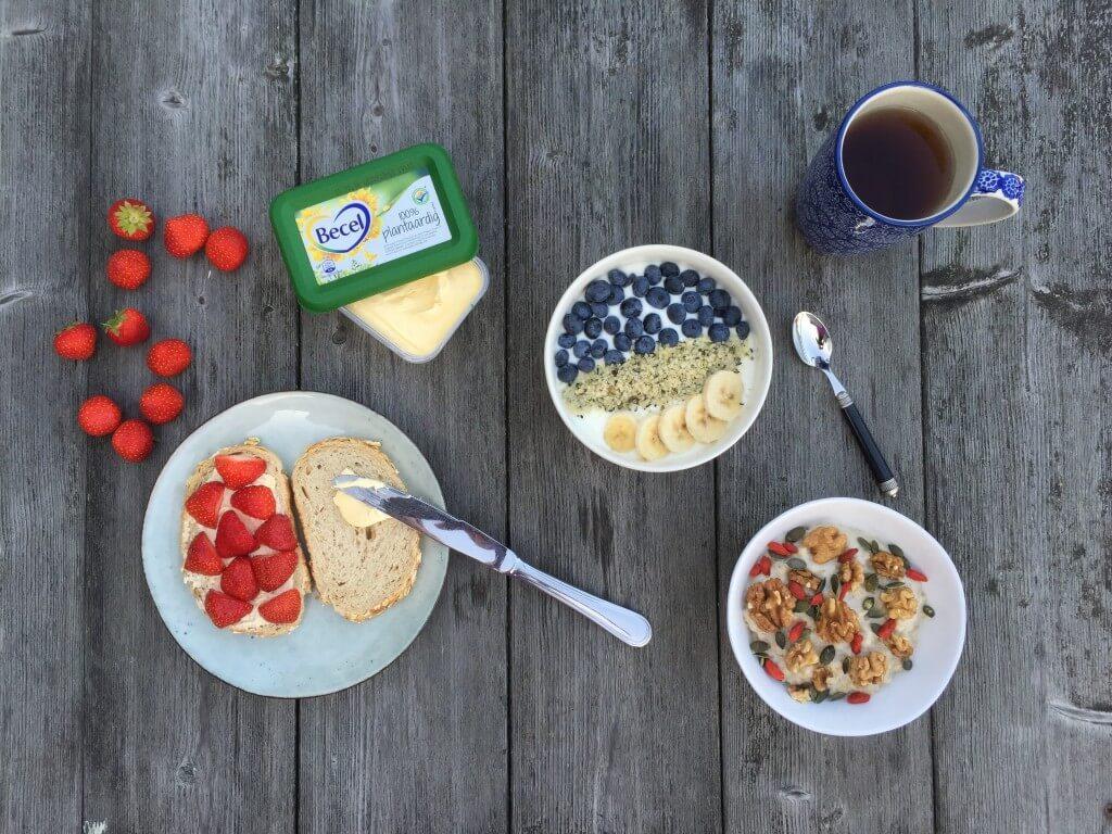 Ontbijt als een koning: 3 x ontbijt inspiratie