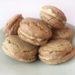 Kerstmenu: pistache rozenwater macarons