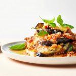 Parmigiana di melanzane met aubergine en buffelmozzarella