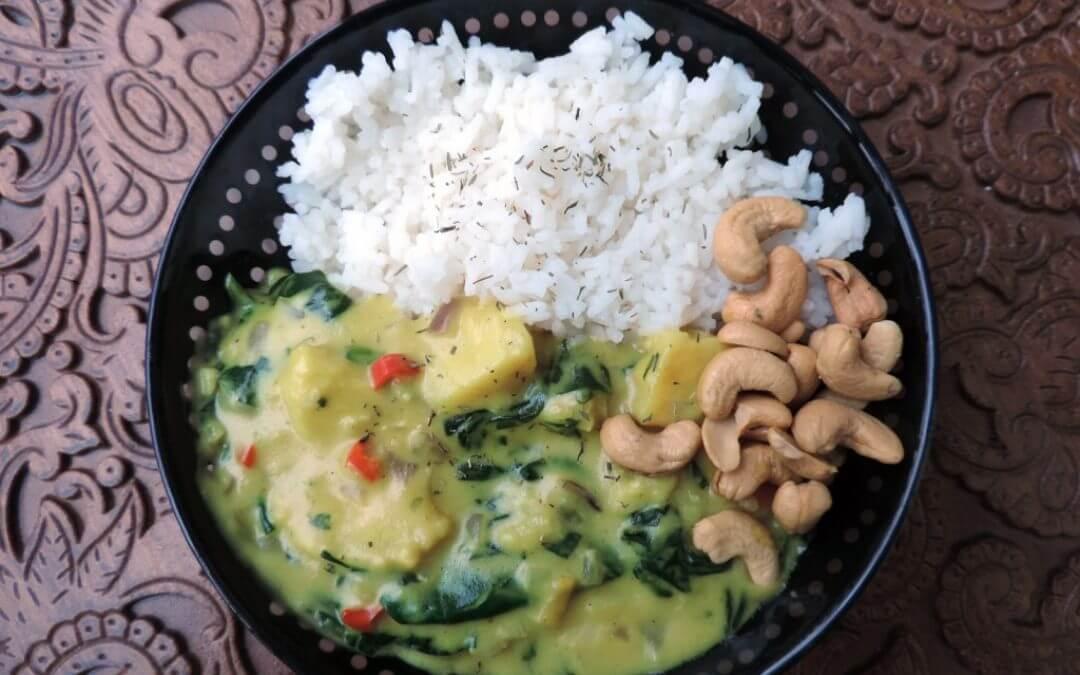 In het seizoen: Pastinaak curry