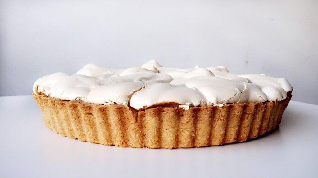 Paasmenu: citroen merengue taart