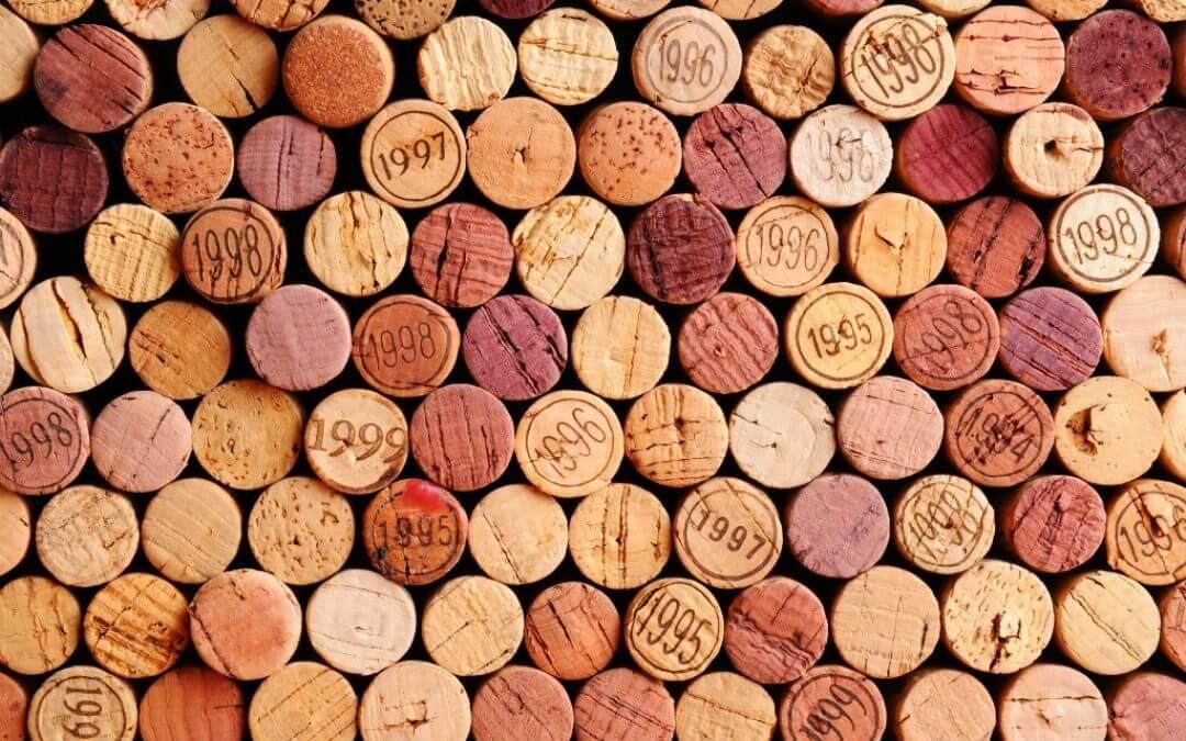 Hoe zit het met kurk in de wijn?