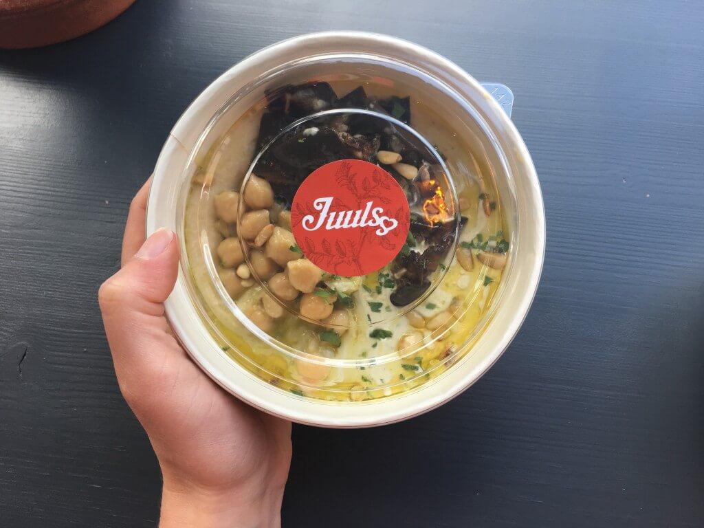 Juuls Hummus: vol liefde