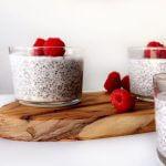 Paasmenu: vegan vanille chia pudding