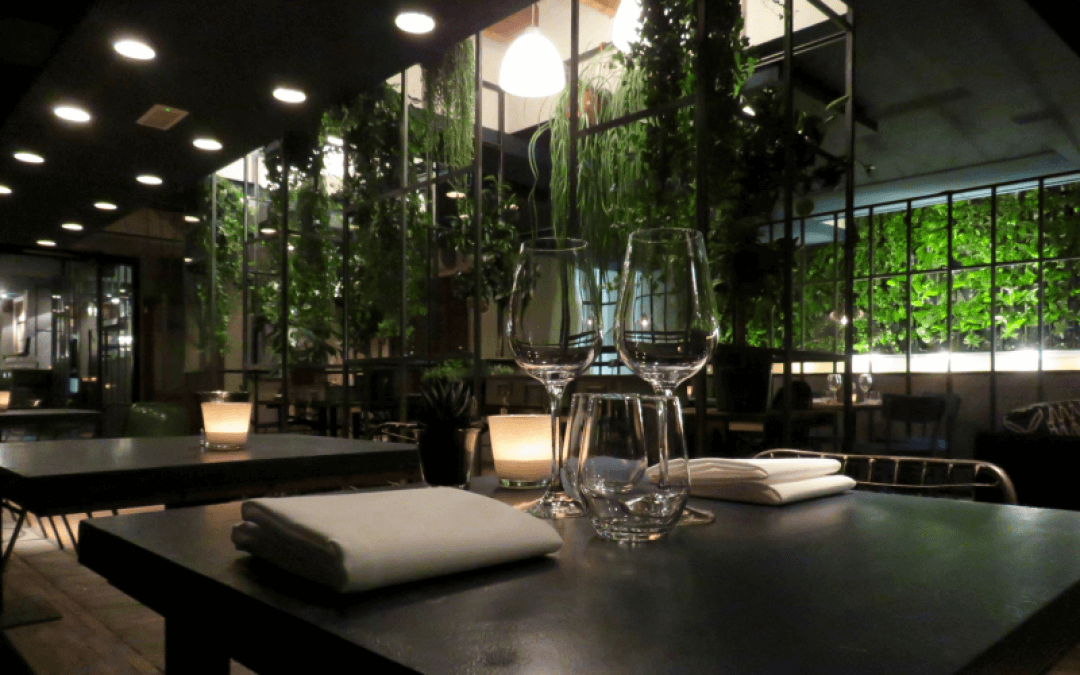 Le jardin groen uit eigen tuin for Restaurant jardin thai