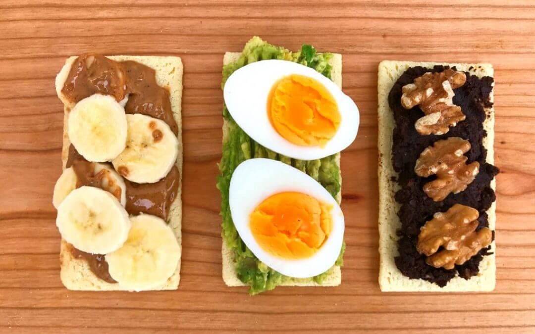 3 x glutenvrije workout snacks