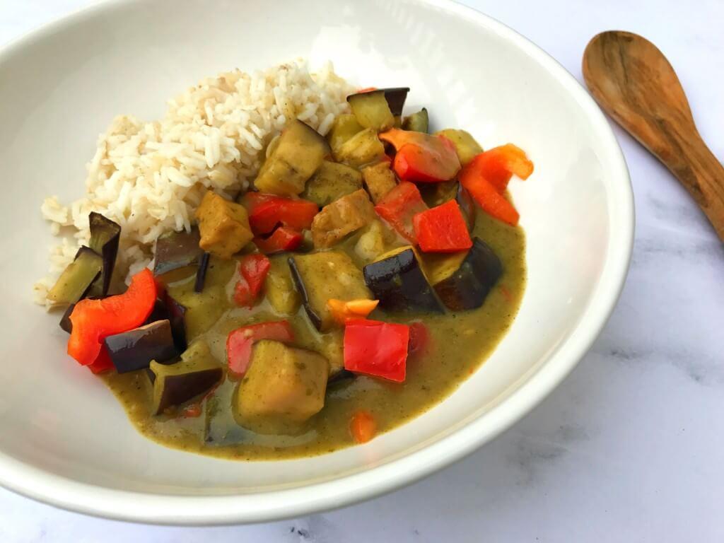 Getest: vegan Thai Green Curry van SoFine
